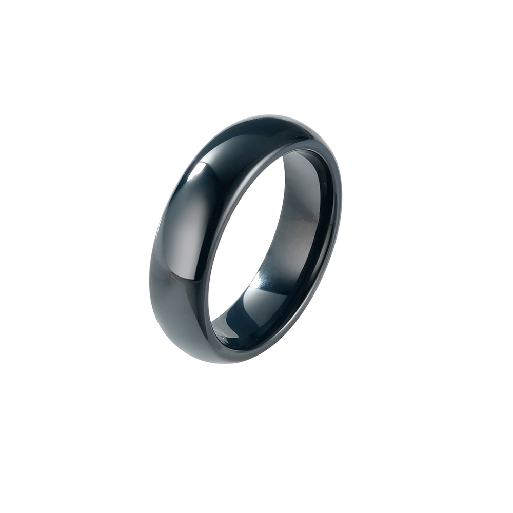 Wholesale Ceramic Fashion Ring, Women Men Cool Finger Ring For Women Deep Blue Ceramic Ring, New Year Gifts