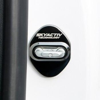 цена на Car-Styling Car Door Lock Protection Cover Case For Mazda 2 3 6 Demio CX 5 CX5 CX-5 CX3 CX8 CX7 CX9 Axela ATENZA 2017 2018 2019