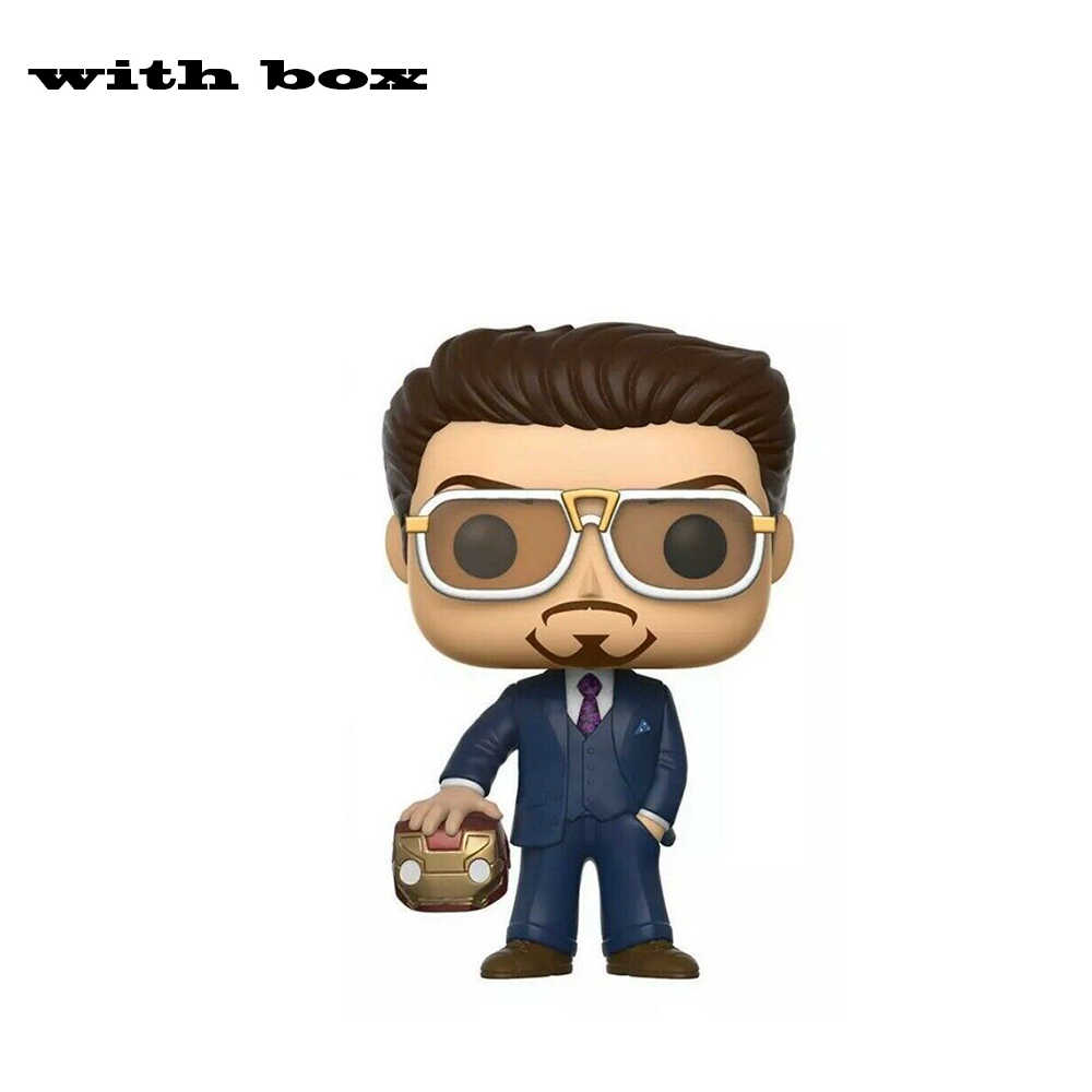 Marvel Iron Man Tony Stark Action FIGURE ของเล่นชุดของเล่นของขวัญ