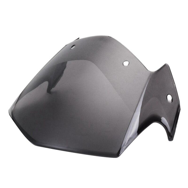 Motorcycle Headlight Fairing Transparent Brown Windshield For Yamaha Ybr 125 2014-2017