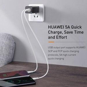 Image 5 - Baseus 65W GaN USB Schnelle Ladegerät Schnell Ladung 3,0 Für iPhone 12 PD 3,0 UNS Stecker Unterstützung FCP AFC SCP QC 3,0 Für Samsung S10 Xiaomi