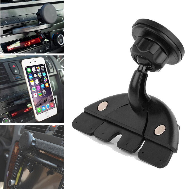 Multifunctional Universal Magnet Car CD Slot Holder Mount Stand For GPS MP4 & Tablet Phone Cradle Bracket For IPhone For Samsung