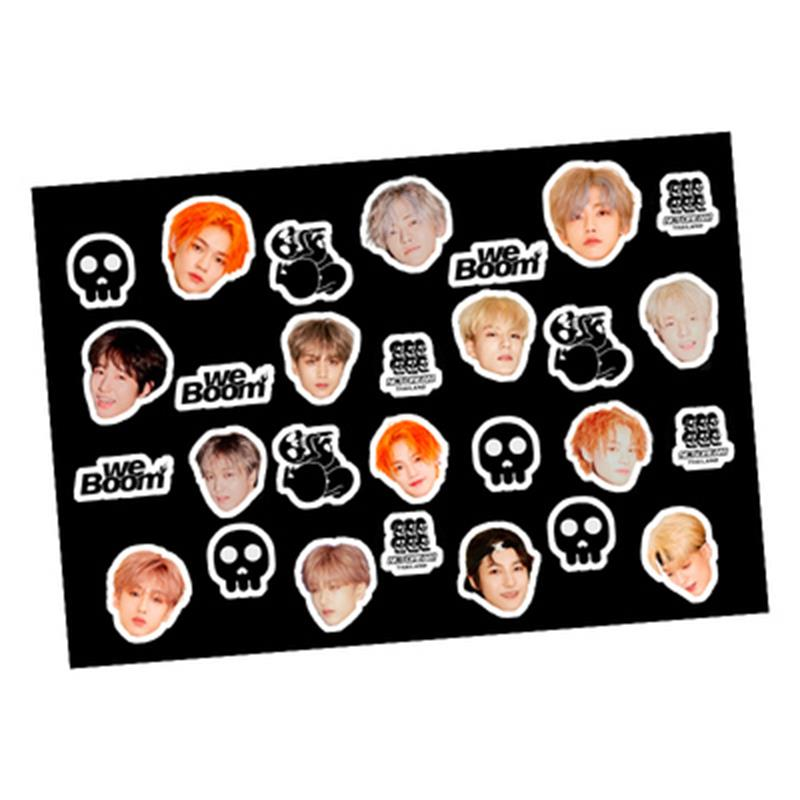 Kpop NCT DREAM WE BOOM Adhesive Photo Sticker Mobile Diary Scrapbooking Stickers DIY