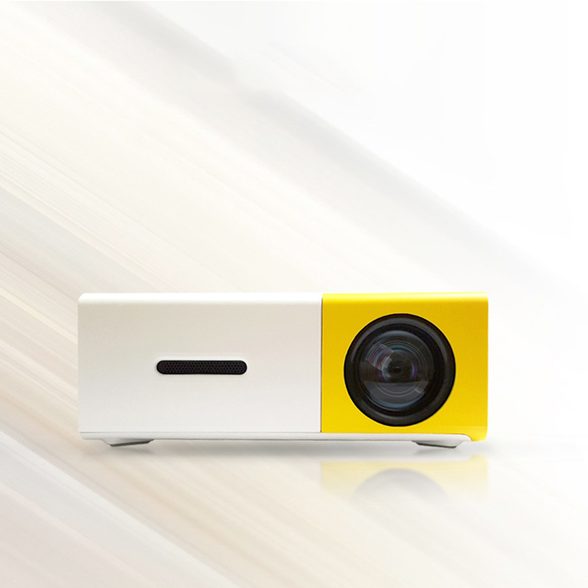 Pocket Projector, Mini Projector, 400-600 Lumens Support HD 1080P HDMI/ VCVBS/ TF/ AV/USB, Laptop/Phone For Home Theater Movie