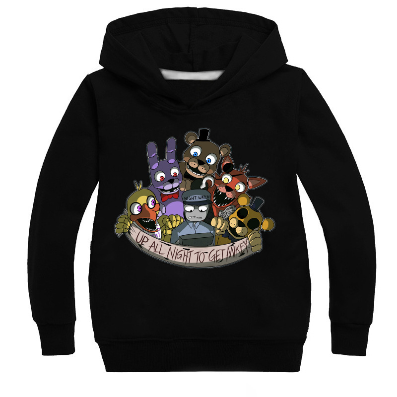 Kids Girls Boys Five nights at Freddy SweatShirts Tracksuits Sport Suits Outwear