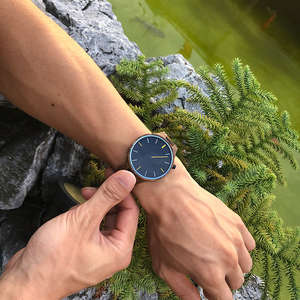 Image 5 - Cuatomize Naam BOBO VOGEL Hout Horloge Mannen Top Luxe Merk Horloges Mannelijke Klok in Houten geschenkdoos huwelijk gift