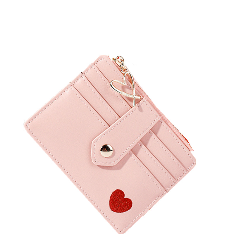 Women Mini Credit Card Holders Wallet Fashion Lady Slim Bank Business ID Bus Card Coin Money Purse Organizer Bags Pouch Pocket