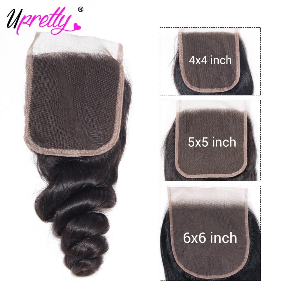 Hd6d472289916413ebbe78de96cd79692g Upretty Hair Loose Wave Bundles With Lace Closure 6x6 5x5 Closure With Bundles Brazilian Remy Human Hair Bundles With Closure