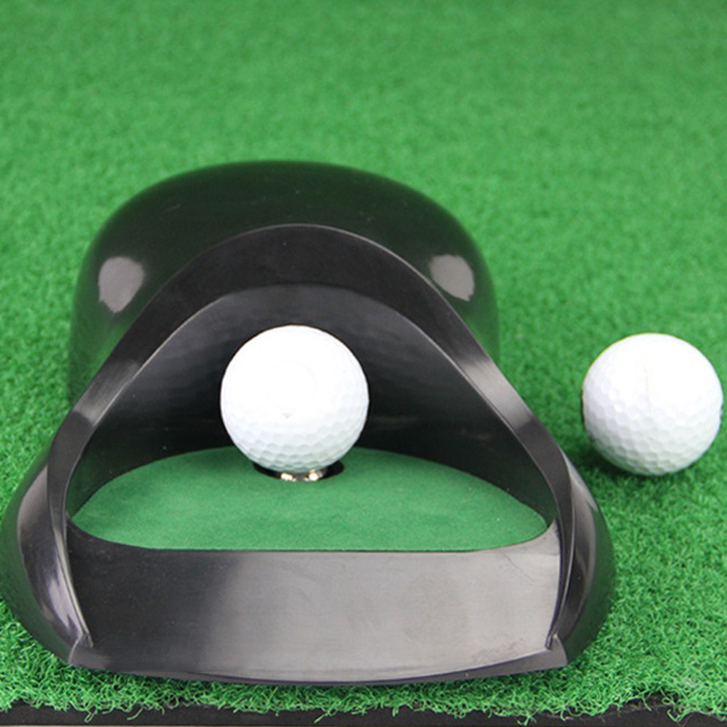 Golf Automatic Putting Cup Auto Return Machine Putt Training Tool Equipment