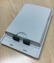 Firstfiber odn ftth 2 코어 파이버 터미네이션 박스 2 포트 2 채널 파이버 소켓 스플리터 박스 실내 실외 광섬유