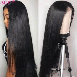 Pacotes de alot com cabelo reto frontal 3 pacotes com frontal peruano feixes de cabelo humano com fechamento frontal do laço não remy