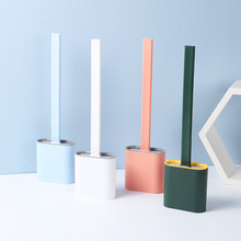Simple Style Silicone Tpr Toilet Brush And Holder Quick Drain Cleaning Brush Tools For Toilet Bathroom Accessories Sets tpr silicone toilet brush and toilet quick drain cleaning brush tool household toilet bathroom accessories set