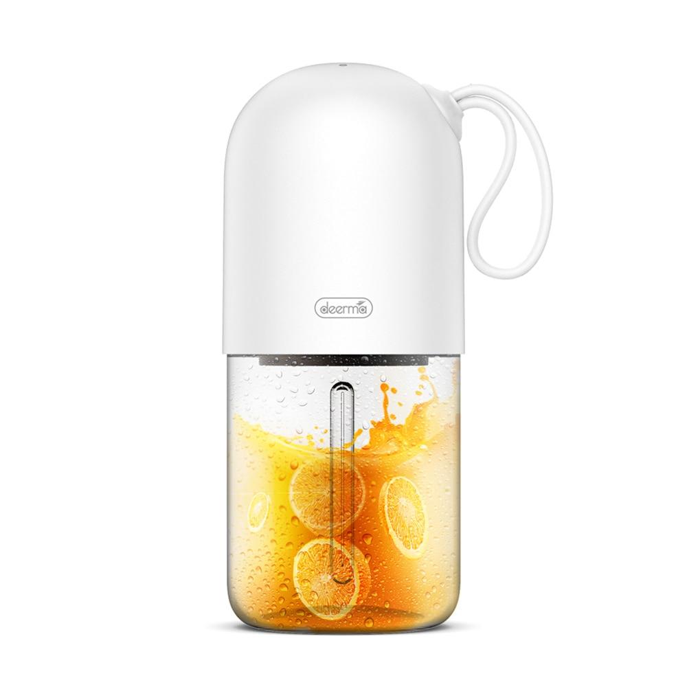 Origianl Deerma 300ml Portable Lemon Orange Juicer Blender Mini Capsule Shape Electric Juice Cup DEM-NU01 2