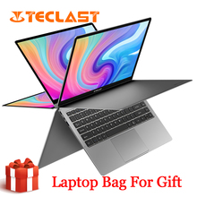 Newest Teclast F6 Plus Laptop 13.3 Inch 8GB RAM 256GB ROM 360 Degree Rotation 1920×1080 Full HD Windows 10 OS 10000mAh Battery