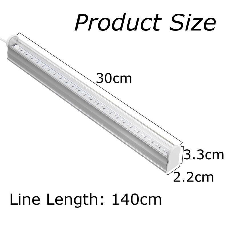 6W 30CM USB נייד UV LED שחור אור 395-400NM גופי מנורת עבור בר מסיבת מועדון DJ UV אמנות