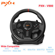 Original PXN PXN-V900 Gamepad Controller Steering Wheel PC Mobile Racing Video Game Vibration(China)