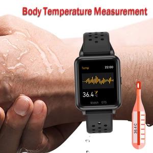 Image 2 - P29 Smart Watch Men Body Temperature Measurement Heart Rate Fitness Tracker Smart Clock Women GTS Smartwatch for Xiaomi