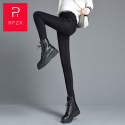 Rfzk 2020 New Fashion Plus cashmere Womens Autumn And Winter High Elasticity And Good Quality Thick Velvet Pants Warm Leggings