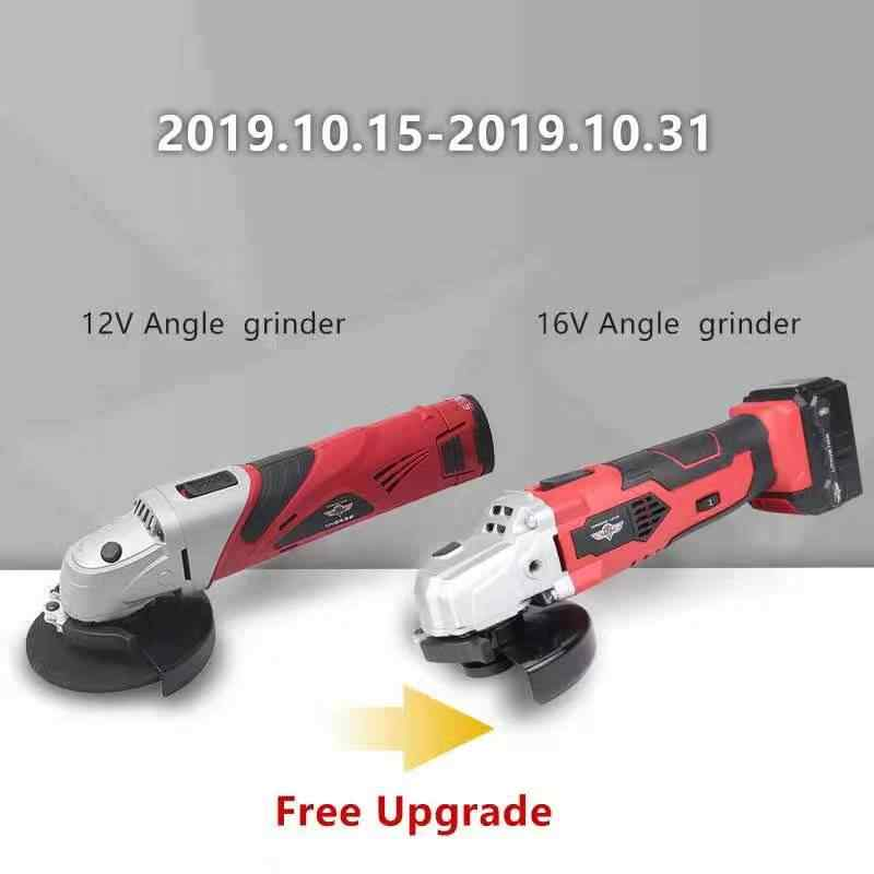 Hephaestus 12V Chargable Angle Grinder Angular Power Tool Grinding Metal Wood Cutting Machine with 2000mAh lithium battery