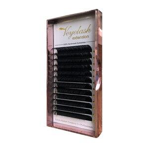 Viplash Individual Eyelash Extensions For Professionals Soft Russian Volume Eyelash Silk Eyelashes Extension Foil Back Tape Lash