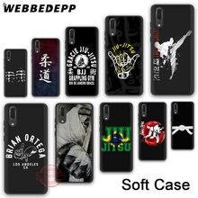 WEBBEDEPP 41N Judo Jiu Jitsu Soft Silicone Phone Case for Huawei P30 P20 P10 P9