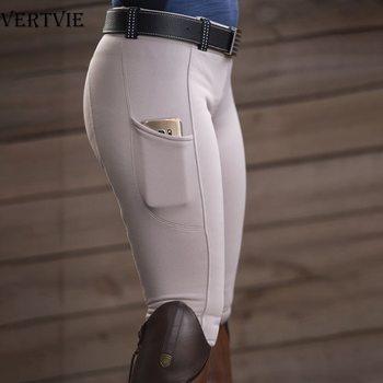 Leggins de equitación para mujer, pantalones de Yoga de cintura alta, pantalones ajustados para levantar la cadera y controlar el abdomen