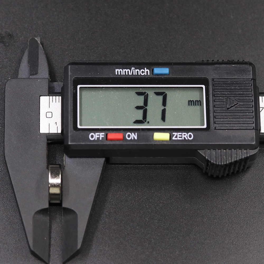 10/20/50/100 Uds. 12x4 imán de neodimio 12mm x 4mm N35 NdFeB redondo súper potente permanente imanes magnéticos 12x4