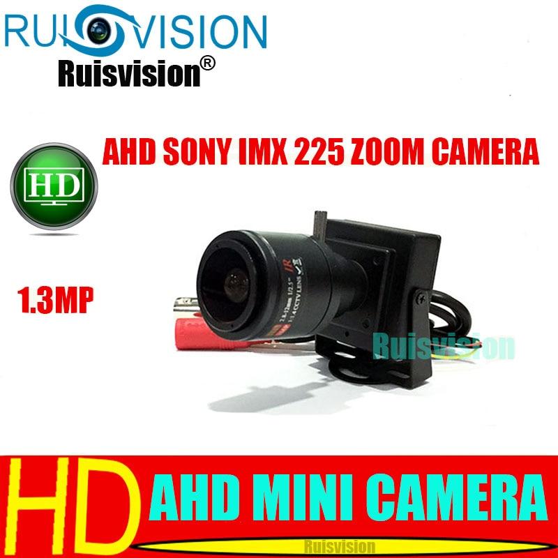 "CCTV 1//3/""  AHD Dome Camera HD 960P 1.3MP Sony IMX225+NVP2431H Zoom Lens 2.8-12mm"
