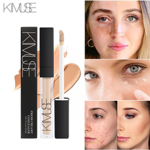 KIMUSE Liquid Concealer Stick Full Coverage Contour Face Makeup Lasting Foundation Base Hide Blemish Bronzer Cosmetic o t o air cushion concealer stick full cover contour face makeup lasting foundation base hide blemish pores bronzer cosmetic9986