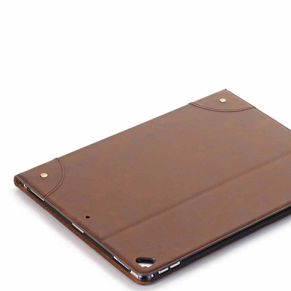 الأعمال نمط حقيقي جلدي كم حقيبة حالة غطاء لباد البسيطة 1 2 3/ل باد mini4/ل باد 2 3 4/لباد الهواء/لباد Air2