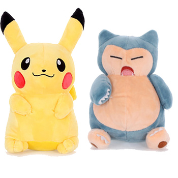 pikachu Charmander Jigglypuff Eevee Snorlax Squirtle Charizard Cute plush toy poke animal doll Birthday girlfirend 30cm height limited edition eevee luma anime new plush doll for fans collection toy celebi