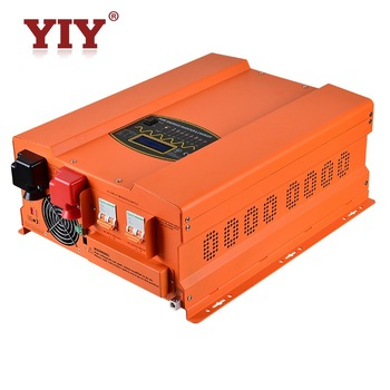 8KW   DC48V  AC120V&240V split phase dual output pure sine wave power off-grid inverter&battery charger customize build-in MPPT 2000w 220vdc to 110v 220vac off grid pure sine wave single phase solar or wind power inverter surge power 4000w