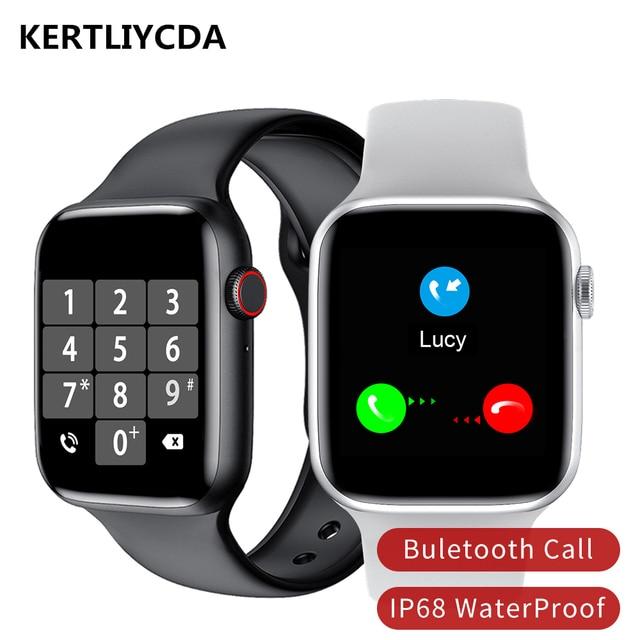 Originele Smart Horloge Mannen Vrouwen Hartslagmeter Bloeddruk Smartwatch IP68 Thermometer Ecg Bluetooth Oproep