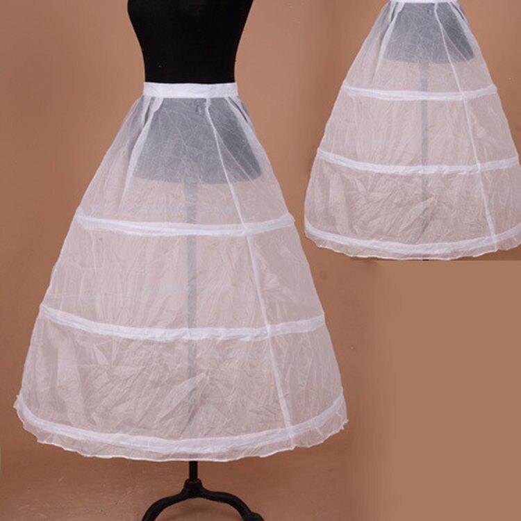 New Style Wedding Dress 3 Circle Crinoline Slip Dress Pannier Bride Lining Group Chapelet Accessories Wedding Dress Lining Large