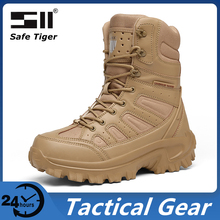 Hunting-Shoes Boots Military Waterproof Mens Outdoor SWAT Hiking Climbing