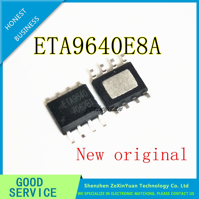 10pcs 100% New And Orginal ETA9640 ETA9640E8A 5V1A SOP-8 In Stock