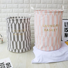Waterproof Sheets Laundry Clothes Laundry Basket Storage Folding Storage Cesto Roupa Suja Laundry Organizer Dirty Clothes Basket(China)