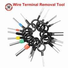 Zestaw do demontażu terminala samochodowego złącze zaciskane Pin Extractor ściągacz Terminal naprawa profesjonalne narzędzia zacisk kablowy zestaw
