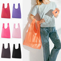 Экологичная сумка для покупок, Модная Складная многоразовая сумка-тоут с принтом, складная сумка, Удобные вместительные сумки для хранения