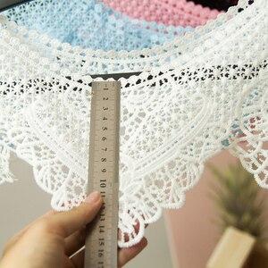 Image 2 - ดอกไม้ลายลูกไม้ผ้าเสื้อผ้าอุปกรณ์เสริม Hollow ลูกไม้วัสดุลูกไม้กระโปรงผ้าคลุมไหล่ผ้าคลุมไหล่อุปกรณ์