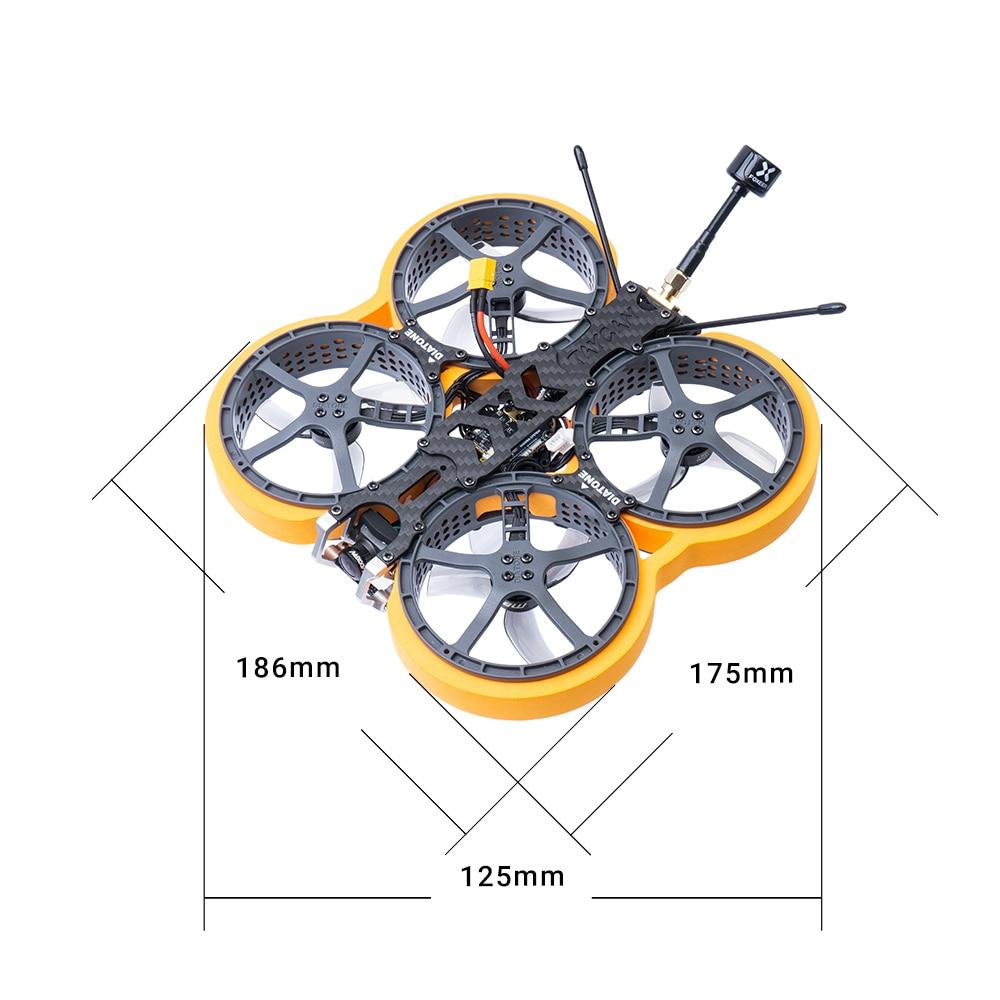 Diatone-MINI Drone de course MXC 25 TAYCAN cinehoop Vista-Bebula-Micro PNP avec Mamba F4 FC et ESC, quadrirotor, 177g 2