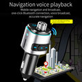 Автомобильный MP3-плеер BC42  автомобильный Bluetooth fm-передатчик QC3.0  быстрое зарядное устройство с двумя usb-портами  автомобильный комплект громк...