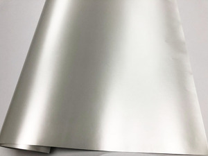 Image 3 - Car Styling Chrome Pearl Ceramic White Vinyl for car wrapping Pearl matte white satin film with Size: 10/20/30/40/50/60x152cm