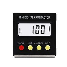 Mini Electronic Digital Display Magnetic Inclinometer Protractor Slope Level Measuring Instrument