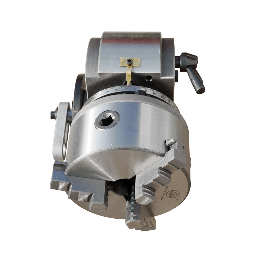 Teilapparat BS-0 5 Zoll 3 Backenfutter Teilapparat Set Präzision Semi Universal Teilapparat für Fräsen Maschine Dreh