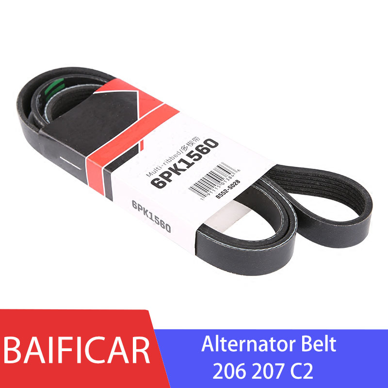 Baificar Brand New Genuine Alternator V Ribbed Belt 5750WG 6PK1560 For Peugeot 206 207 Citroen C2-in Belts, Pulleys, & Brackets from Automobiles & Motorcycles on AliExpress - 11.11_Double 11_Singles' Day 1