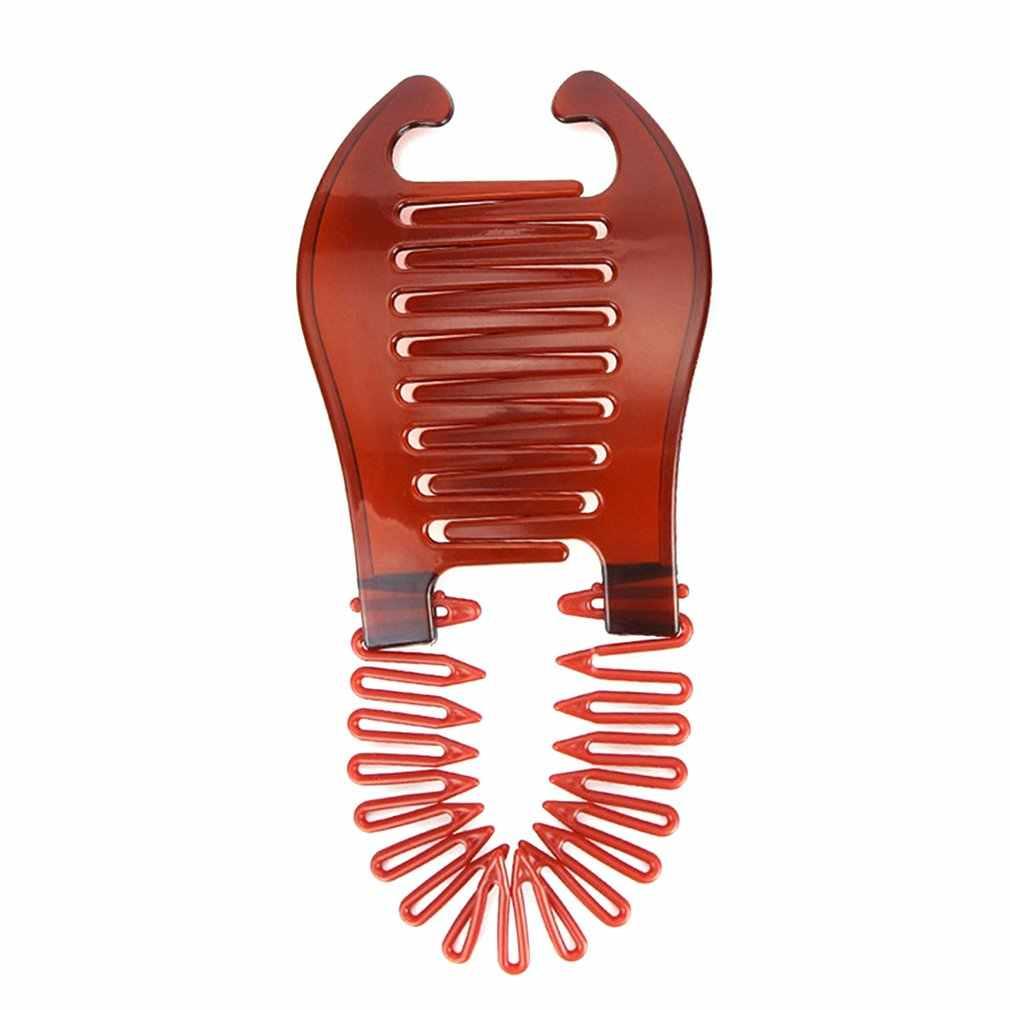 Lồng vào nhau Bên Tóc Nhựa Đầm Tóc Tạo Kiểu Tóc Dụng Cụ Làm Tóc Tiếp Liệu Mũ Đợi Đầu Đa Năng