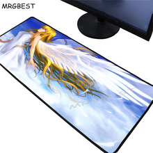 MRGBEST Cute Angel Girl Anime Mouse Pad Player Large Lockedge Soft Durable Gaming Padmouse Non-slip Rubber Computer Desk Mat Xxl