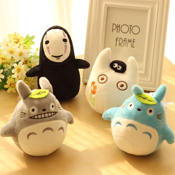 candice guo plush toy cartoon animal Totoro Dinosaur small pendant soft doll decoraition birthday Christmas gift 1pc