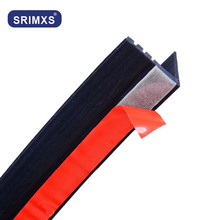V Type Car Door Glass Window Rubber Seal Strip Auto Seals Weather 8.5mm For